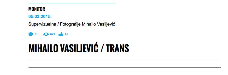 MVasiljevic Trans Supervizuelna